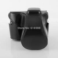 Wholesale! camera bag cover bag imitation leather case for Samsung NX300 NX300M (20-50mm 18-55mm lens) camera case leather bag