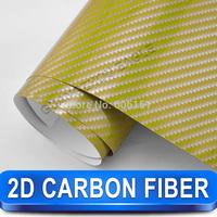High Quality 2d Carbon Fiber Vinyl Wrap  Renew Your Cars