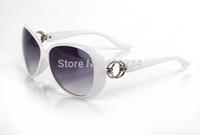 Free dropshipping Name Brand New 2014 Fashion Vintage Glasses Frames Designer Sunglasses Women Coating WG7