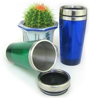 Free shipping 14OZ Stainless steelcoffee mug travel mug cup insulated
