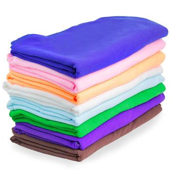 2PCS/LOT, Multicoloured Microfiber Fabric Large Bath Towels Ultrafine Fiber Beach Towels for Adults 140x70cm Wholesale H127