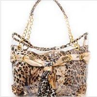 Fashion Scarves Decoration Tiger Print  Women Leopard Handbag Autumn Leopard Shoulder Bag  FREE SHIPPING