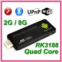 TV BOX Androind 4.4.2 MK809 III MK 809III Rockchips RK3188 Quad Core Cortex A9 MK809III MINI PC TV Stick 2GB RAM 8GB ROM 1.8GHz