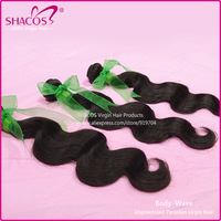 Queen hair products shacos hair Peruvian Virgin hair Body Wave mixed lenght 3pcs/lot 95-100g/pcs soft & Natural Hair Extension