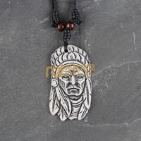 12pcs Wholesale Tibetan Jewelry Yak Necklace Fashion Artificial Bone Pendant Indians N0388