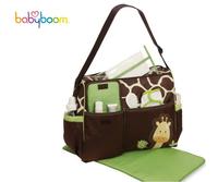 2014 New 3Pcs MultiFunction Baby bag Diaper Bags Mummy Bags Should Bag For Baby Handbag Tote Brand Nappy Messenger handbags