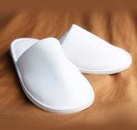 Free shipping Hot selling Disposable Slippers/one-time/hotel/family/travel/white slippers/sulbactam spa slippers 20pcs/lot