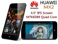 "2013 new 100% original HUAWEI MX2 Quad core phone android phones unlocked android 4.1.1 WIFI 4.7 inch screen 4G ROM 4.5"" IPS"