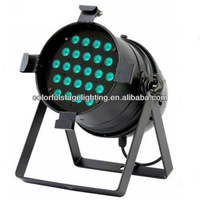 Free shipping 24x10W RGBW 4 in 1 LED Par 64 Can