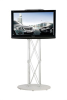 "Portable LCD / LED  TV stand / exibition product / trade show / 32"" to 72"" plasma or LCD television stand"
