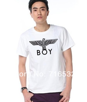 boy london t-shirt brand men shirt dance Wyatt clothing Lee Hyori round neck cartoon short-sleeved T-shirt
