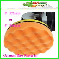 Free Shipping:5 or 6 Inch Buffing Pads,Car polishing/Waxing ball, wave sponge