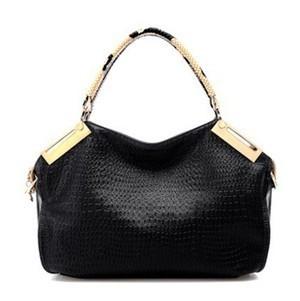 2014 HOT WEIDIPOLO brand snakeskin handle crocodile genuine leather handbag fashion restore big tote bag promotion