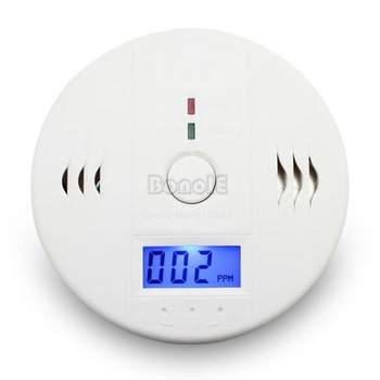 Home Safety CO Carbon Monoxide  Poisoning Smoke Gas Sensor Warning Alarm Detector 8932