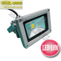 Freeshipping outdoor 10w led flood lights waterproof ip65 input AC220V Taiwan epistar chip white/red/green/yellow/blue/rgb
