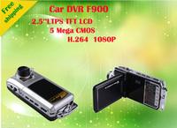 F900  2.5 inch TFT  LCD HD 1920*1080P Car Camera 30fps Registrator Car DVR   Video DVR Recorder  Black Box recorder