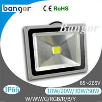 Cheap High Power LED Floodlight Spotlight Waterproof 85V~265V 10W 20W 30W 50W 70W 100W LED Flood Lamp Light white/warm white