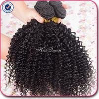 Top quality 7A virgin hair mongolian kinky curly hair 4 pcs free shipping 8''-30'' length human hair weave natural black hair