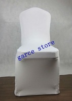 Free shipping wedding chair cover (white)