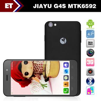Original Jiayu G4 G4s MTK6592 Octa Core Android 4.2 Phone 2GB RAM 16GB 4.7 inch 1.7GHz IPS 13.0MP Camera GPS Dual SIM 3G WCDMA