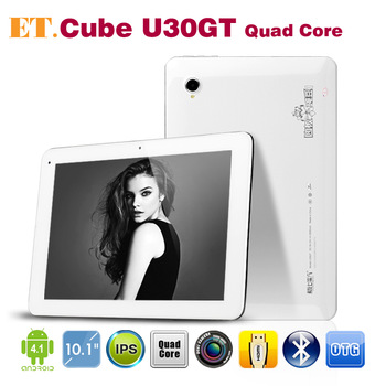 "Free Shipping 10.1"" Cube U30GT Quad Core tablet pc RK3188 1.6GHz 1GB 16GB/ 2GB 32GB 5.0MP Camera Bluetooth HDMI"