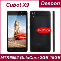 Original Cubot X6 MTK6592 Octa Core 1GB RAM 16GB ROM Smartphone 5.0 Inch IPS OTG HD OGS Cell Phones/Koccis