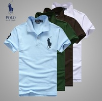 big horse logo New 2013 autumn-summer brand polo men Designer cotton famous polo shirt men's casual shirt slim fit blusas polo