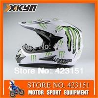 Free Goggles  Motocross Helmets Ghost Rider MOTORCROSS HELMET Dot open face helmet,OFF ROAD HELMET MOTORCYCLE 3 Size