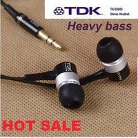 TDK 3.5mm metal earphones and headphone Sound deep, sport in-ear Earphone,impact your hearing Wholesale