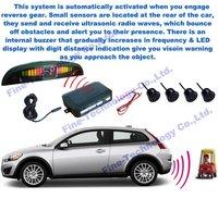 brand new good quality waterproof ultrasonic sensor  LED display parking sensor systems