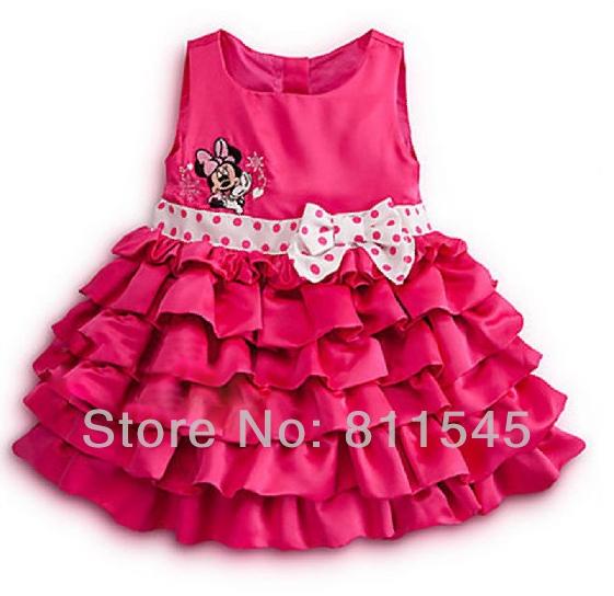 minnie mouse vestido de fiesta de venta al por mayor con una ...