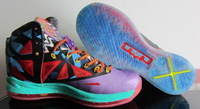 Free shipping, LeBron 10 'What The MVP', 2013 New arrival sport shoes Lebron X 10 MVP Mens Basketball Shoes US8-13