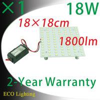 18cm Length LED Aluminum Square Panel Lights Board Led Magnet Aluminum Square Ceilig Lights