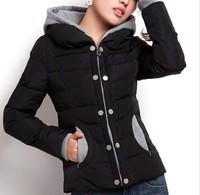13 Discount slim short design wadded jacket korea women's cotton-padded outerwear hot item