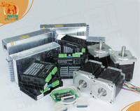 EU Free! Wantai 4 Axis Nema34 Stepper Motor WT86STH118-6004A 1232oz-in+Driver 80V 7.8A 256Micro