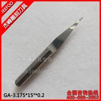 3.175*15Degree*0.2 High Precision Flat Bottom Engraving Bits for Wood/ V-shape PCB Tools Wholesale