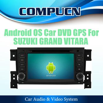 Pure Android 4.0 Car DVD Stereo Sat Navi Headunit For SUZUKI GRAND VITARA With GPS Radio RDS TV Ipod Bluetooth FREE Shipping+Map