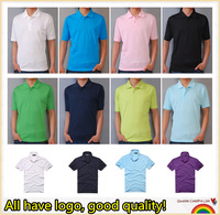 Fashion brand Polo Men 2013 Summer Solid color lapel Shirts For Mens Casual   Sport polo Tshirt