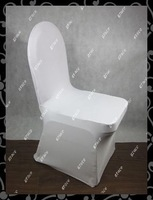 free shipping high quality  white lycra chair cover   (white)