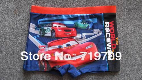 Retail! for 1-8 Yrs,4styles boy Trunks/swimsuit/swimwear/beach wear/Surfing/swimming wear cars beach wear mickey BYK-225(China (Mainland))
