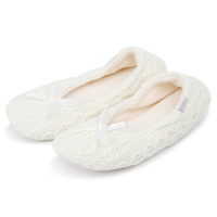 2014 new style novelty autumn winter women's home yoga ballet shoes cotton padded indoor yarn knitted home slippers for ladies