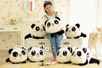 Baby toys to lie prone on the panda doll comfortable plush toys creative valentine's day my girlfriend a gift free shipping