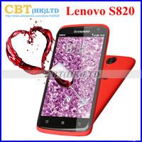 Original Lenovo S820 Smart phone MTK6589 Quad Core Android 4.2 Dual SIM Cards Ram 1GB Rom 4GB in stock