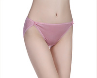 Women Silk Briefs Underwear 2013 New Brand Mulberry Silk Lingerie Ladies Panties Health Care M L XL pink black white beige