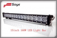 15inch 12v/24v 14169.6lm 160W Cree led light bar, led driving light bar (BSPL20AH)