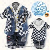 2013 New Hot Children's Clothing Suit Cotton Coat+T-shirt+Pants Suit Baby Boy kid 4Sets/lot hot new