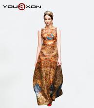 wholesale silk sleeveless dress