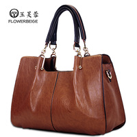 New 2013 women leather handbags fashion vintage shoulder bags women messenger bag ladies brand totes designer handbag the sale