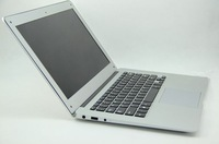 14 inch Ultra book Laptop PC Notebook Computer Intel Atom D2500 1.86Ghz dual core 2GB DDR3 250GB HDD Webcam