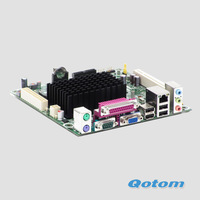 original intel mini ITX motherboard D425KT,all-in-one single core 1.86G mainboard,VGA & HDMI ports,7 USB,2 serial ports,etc.
